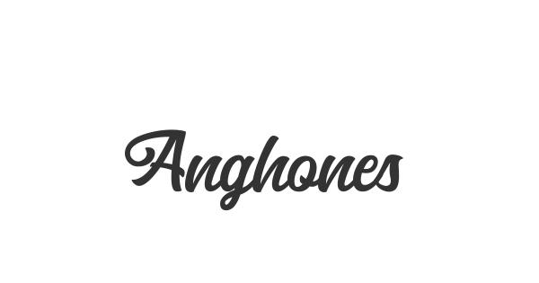 Anghones font thumbnail