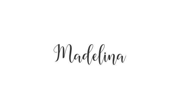 Madelina font thumbnail