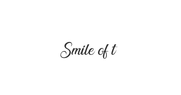 Smile of the Ocean font thumbnail