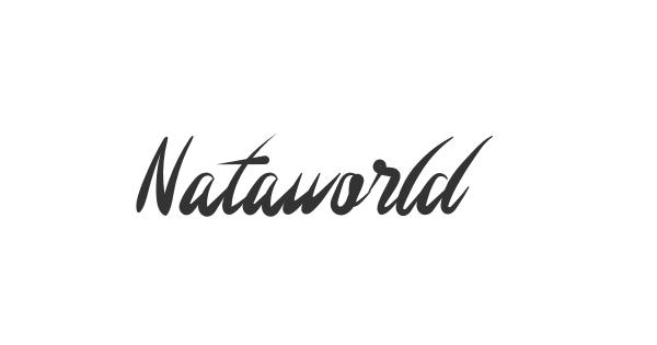 Nataworld font thumbnail