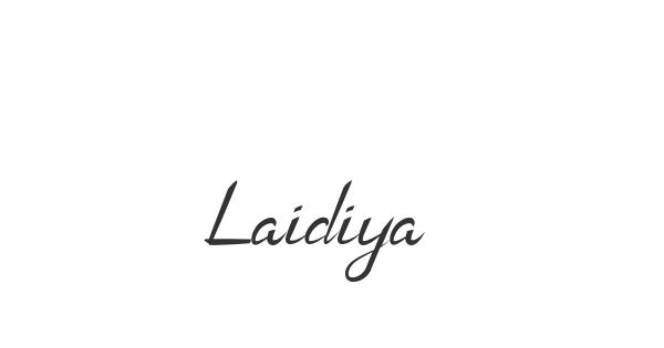 Laidiya font thumbnail