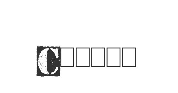Carton font thumb