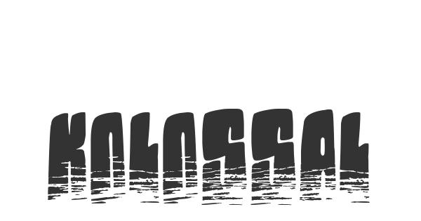 Kolossal font thumb