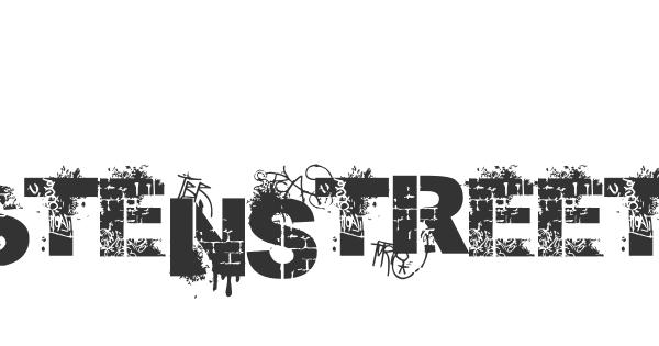Stenstreet font thumb