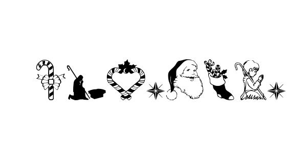 Christmas3 font thumb