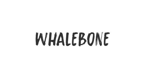 Whalebone font thumb