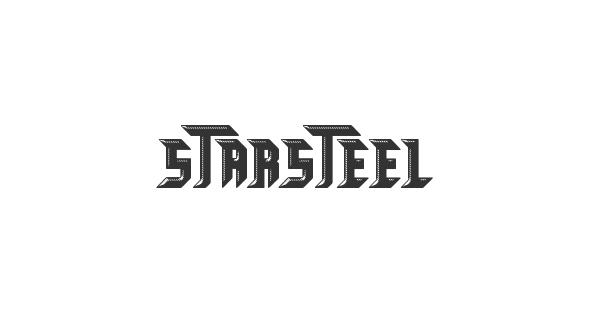 STARSTEEL font thumb