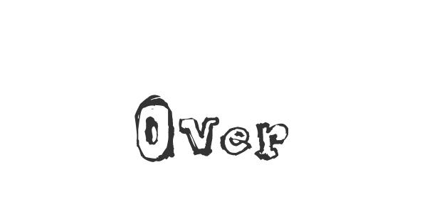 Over font thumb