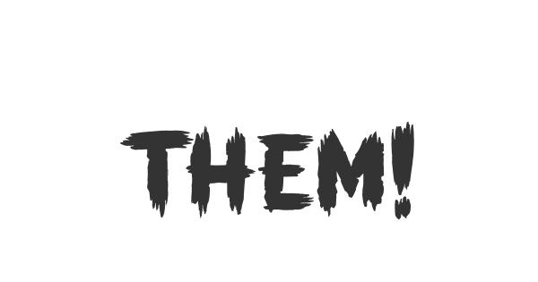 THEM! font thumb