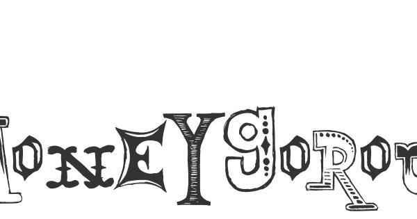 MoneyGoRound font thumb
