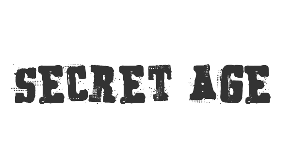 Secret Agency font thumb