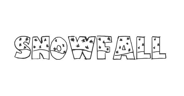 Snowfall font thumbnail