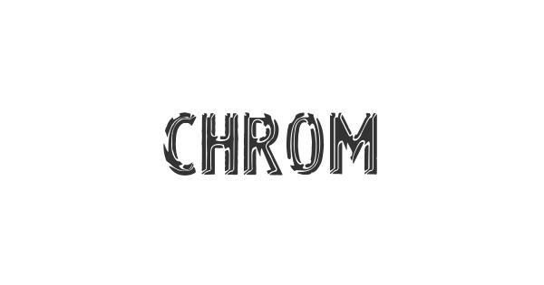Chrom font thumb