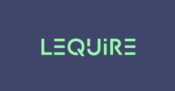 Lequire font thumb