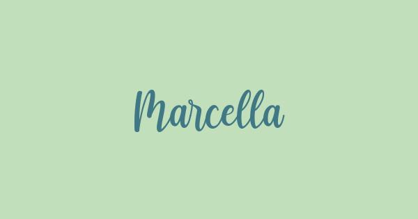 Marcella font thumb