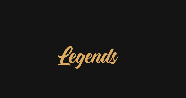 Legends font thumb