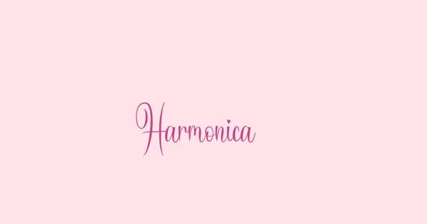 Harmonica font thumb