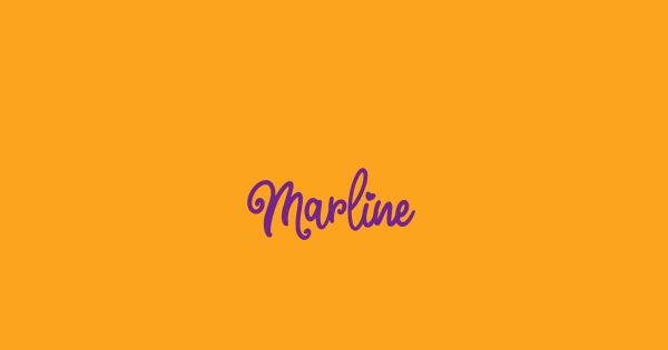 Marline font thumb