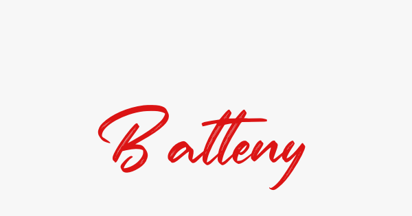 Batteny font thumb