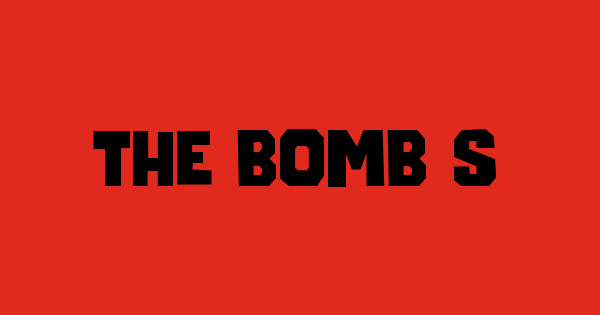 The Bomb Sound font thumb