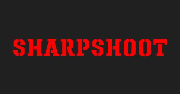 Sharpshooter font thumb