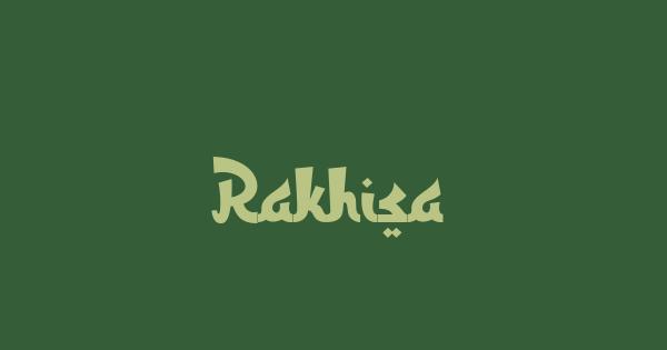 Rakhisa font thumb
