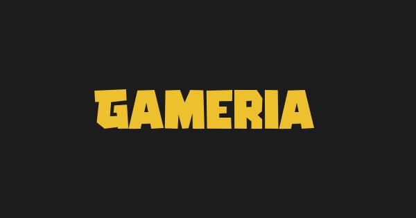 Gameria font thumb
