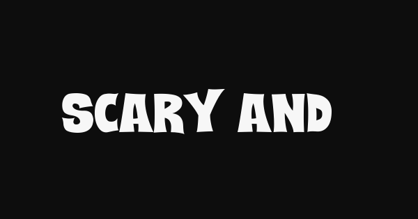 Scary And Spicy font thumb