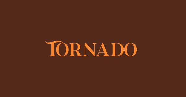 Tornado font thumbnail