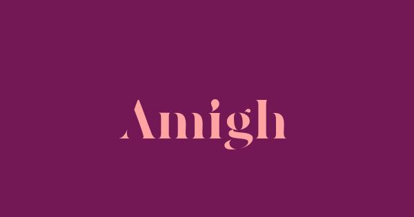 Amigh font thumb