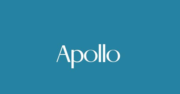 Apollo font thumb