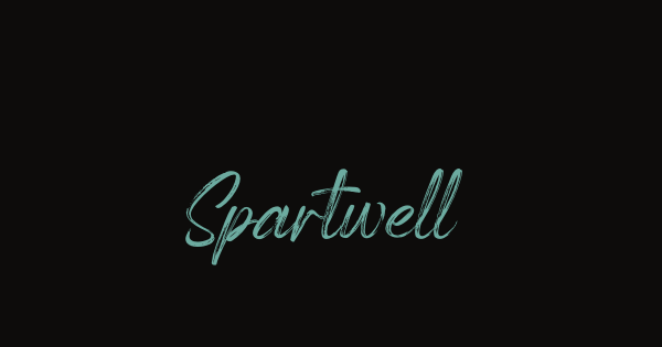 Spartwell font thumb