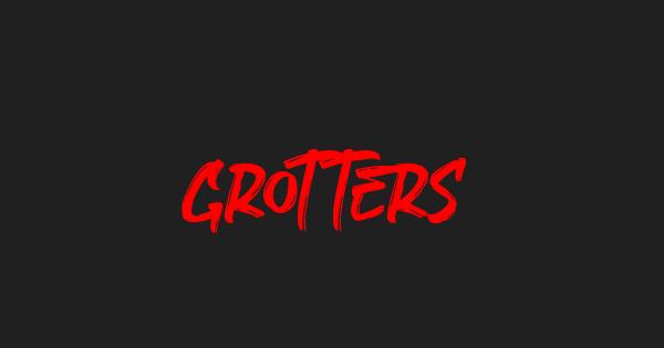Grotters font thumb