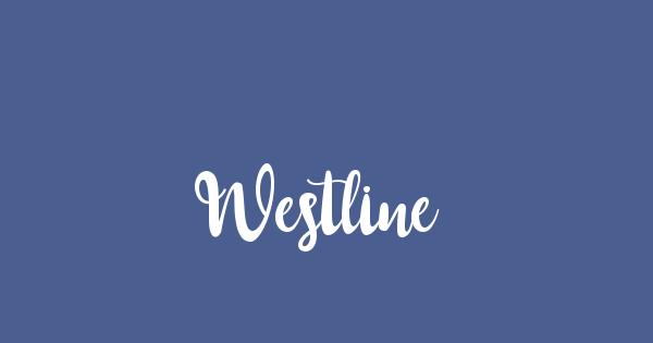 Westline font thumb