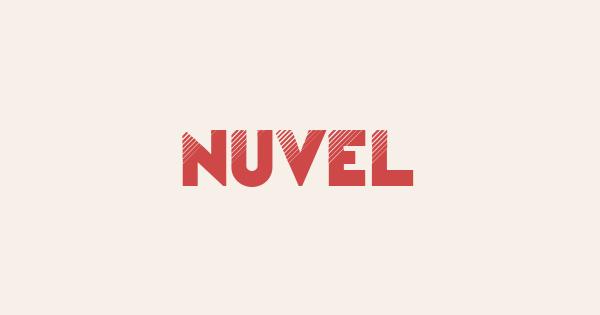 Nuvel font thumb