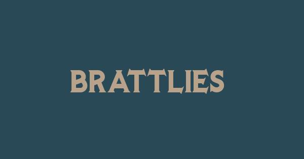 Brattlies font thumb