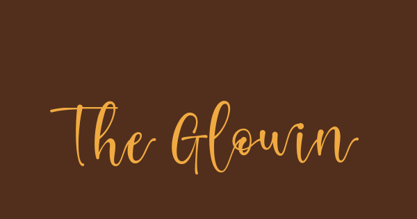The Glowing Black Queen font thumb
