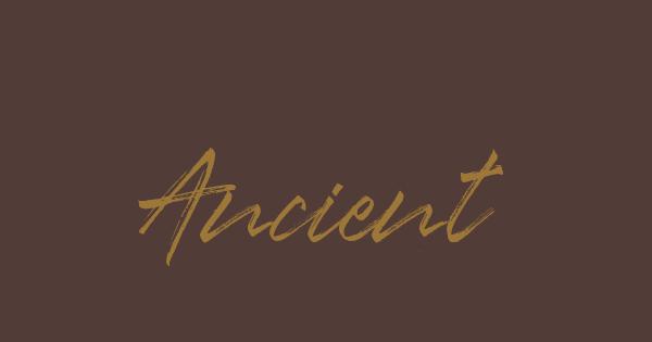 Ancient font thumb