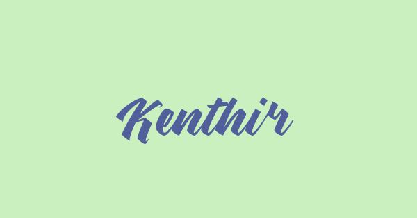 Kenthir font thumb
