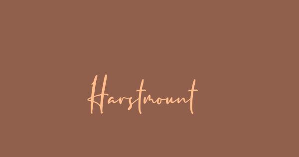 Harstmount font thumb