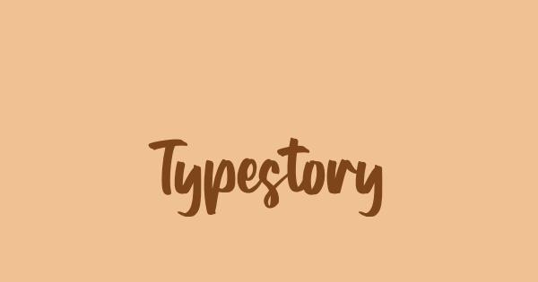 Typestory font thumb
