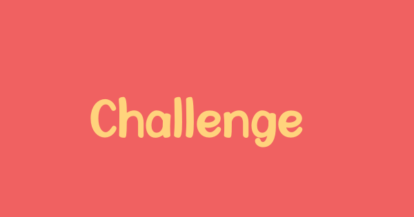 Challenge The World font thumb