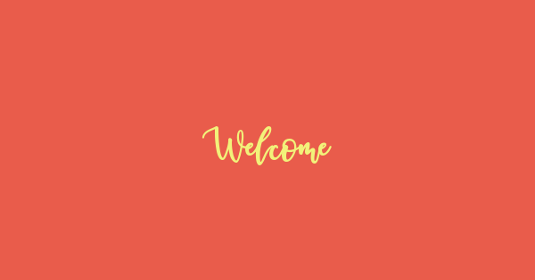 Welcome font thumb