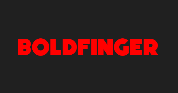Boldfinger font thumb