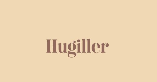 Hugiller font thumb