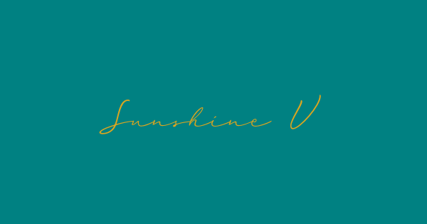 Sunshine Valley font thumb