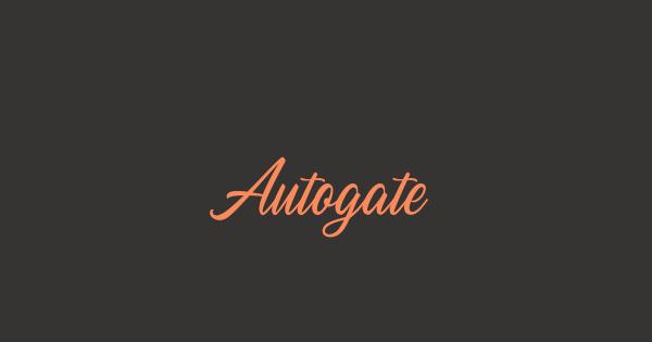 Autogate font thumb