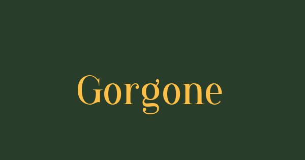 Gorgone font thumb