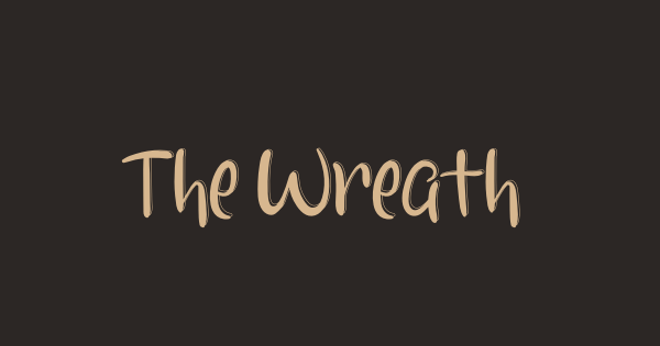 The Wreaths font thumb