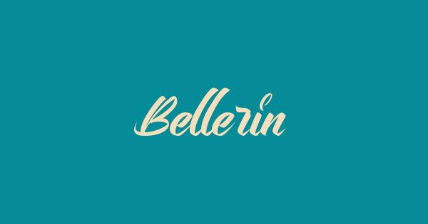 Bellerin font thumb